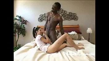 Asian wife gets fucked by a big black cock part 2
