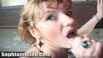 Femdom wet creamy pussy dripping into his mouth