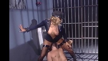 ebony inmate gets assfucked by ebony officer